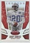 (Barry Sanders #30/199 (Football Card) 2015 Panini Certified - Certified Legends - Mirror Red #CL9)