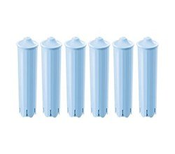 Replacement Coffee Water Filter for: Jura 71445/CMF001/67879/Capresso Clearyl Blue Water Filter (6-Pack) by ICEPURE