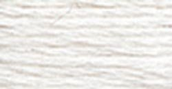 DMC Bulk Buy Thread Six Strand Embroidery Cotton 8.7 Yards Snow White 117-B5200 (12-Pack)