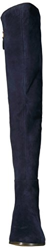 Eltynn West Navy Suede Women's Nine 4Acq1Ewpw