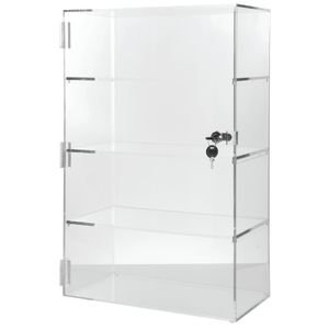 "Vertical Acrylic Display Case 24"" H by Retail Resource"