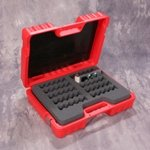 Storage Case Turtle 10 Capacity External/Removable Hard Drive Red