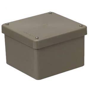 未来工業 正方形防水プールボックス(カブセ蓋ノック無) ライトブラウン 8個価格 PVP-1208BLB   B078KCGWCV