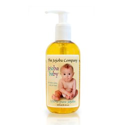 JOJOBA BABY SPO Baby Oil Jojoba Golden Pure, 8.45 OZ