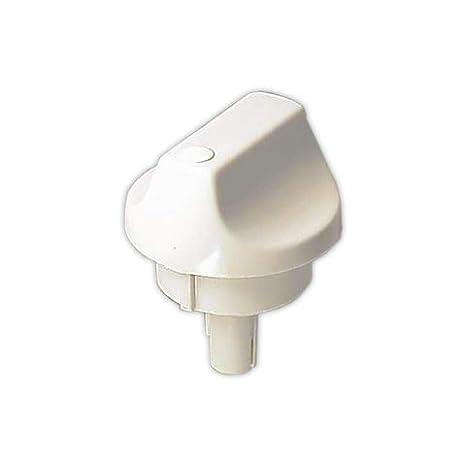 DOJA Industrial | Mando CCN SUPERSER diámetro 6 mm Blanco | Eje ...