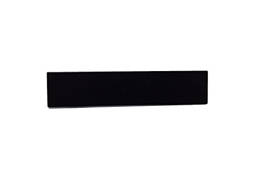 Police Fire EMS Flat Black Mourning Pins for Embroidered or Patch Uniform Badges (2 Pack, 76mm /3 inch)
