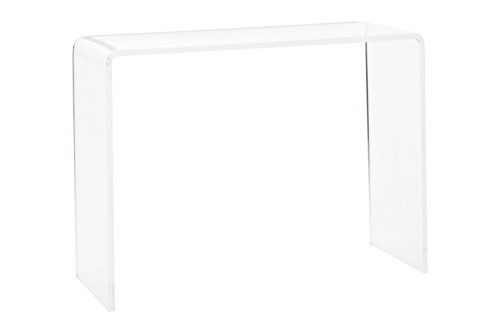 Pure Dcor ACR-T07-IL Pure Decor Acrylic Console Table 29hx38wx15 Clear