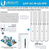 UniFi AP AC Mesh UAP-AC-M-US Wide-Area in/Out Dual-Band Access Point (4 Pack)