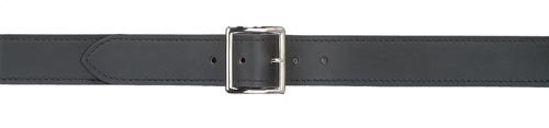 Safariland Duty Gear Garrison Chrome Buckle Belt (Plain Black, 42-Inch) (Buckle Garrison)