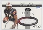 Cadillac Williams #31/50 Cadillac Williams (Football Card) 2005 SAGE - Jerseys - Silver #J24 ()