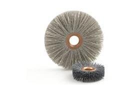 "Brush Research CY4180SCF CY 4"" ABRASIVE NYLON COPPER CENTER WHEEL BRUSH, 5/8"" AH,180SC"