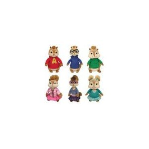 Amazon.com  Ty Beanie Babies From Alvin   the Chipmunks  Brittany ... fba14e1ea5c9