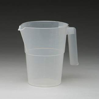 Medegen Medical Products H960-01 Homophony Pitcher, 1000 cc Capacity (Pack of 150)
