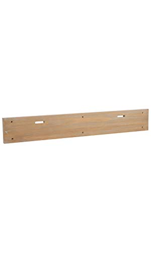 - Natural Grain Carmel Oak Wall Mount Double Slot Board - 40