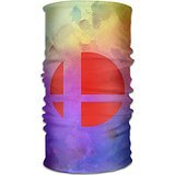 MGTER66 The Super Smash Brothers Logo Seamless Multifunctional Headscarves (Dark Lily Legend Costumes)