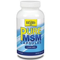 MSM, 1000 mg, 240 Caps by Natural Balance (Formerly known as Trimedica) (Pack of 6)