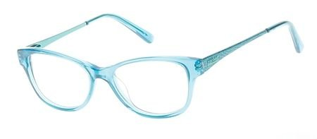 Guess GU9135 Eyeglass Frames - Turquoise Frame, 48 mm Lens Diameter - Glasses Girls Guess