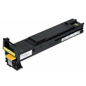 KONICA MINOLTA A06V233 HIGH CAPACITY YELLOW TONOR CARTRIDGE FOR MAGICOLOR 5500/5700 (5570 Yellow Toner)