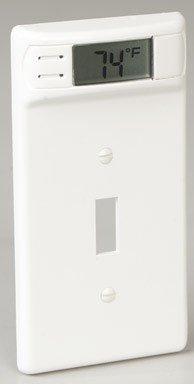 Thermometer Wall Plate (12100) (Wall Plate Thermometer Toggle Switch)