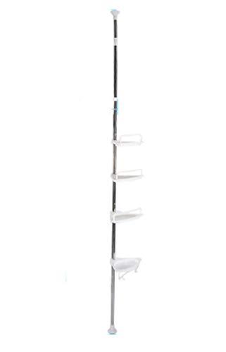 Rod Iron Bakers Rack - Amazcafe Bathroom Bathtub Shower Caddy Holder Corner Rack Shelf Organizer Accessory 4Tier