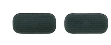 UPC 842688000619, Perri's Black Stirrup Pads, Black, 4 1/4-Inch
