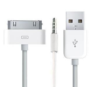 1 opinioni per Rydges cavo audio con 3,5mm Jack + Cavo di ricarica + USB per tutti i Apple