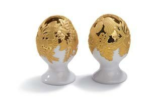 Lladro Porcelain Naturofantastic Salt and Pepper Gold by Lladro ()