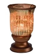 Scentsy Amber Fluted Shade Warmer by Scentsy