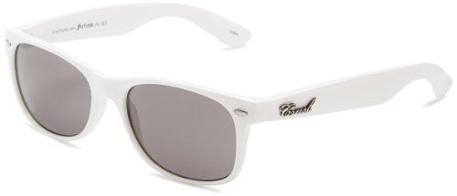 Crush Women's Brooklyn Wayfarer Sunglasses,White,53 - Sunglasses Brooklyn