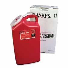 UMISC3G129008 - Unimed-Midwest Sharp 3-Gallon Mail-Away (Mail Away Sharps Container)