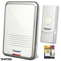 - Wireless Door Bell Chime Battery Operated Powered 36 Musical Melodies LED Light