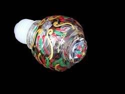 (BELLISSIMO! STOPPER-2397 Hand Painted Regal Poinsettia Design Wine Bottle Stopper)