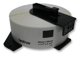 Brother DK11201 - Etiquetas precortadas de dirección estándar (papel térmico), 400 etiquetas blancas de 29 x 90 mm, Para impresoras de etiquetas QL