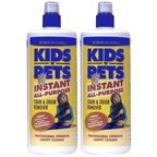 KIDS 'N' PETS Brand Stain and Odor Remover, two pack 32 fluid ounces (64 ounces total), My Pet Supplies