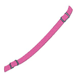 Pink Chin Strap with Snaps for Baseball/Softball Helmets (Little League, ASA, Pony, T-Ball)