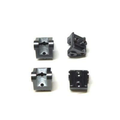 ST Racing Concepts STA31384XGM CNC Machined Aluminum Lower Shock/Suspension Link Mount (4), Gunmetal
