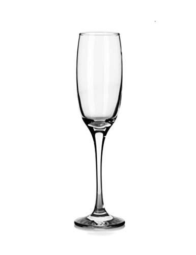 - Martini Cocktail Glasses Cup, Tempered Glass Flute Champagne Glass Goblet Glass (Size : 6pc)