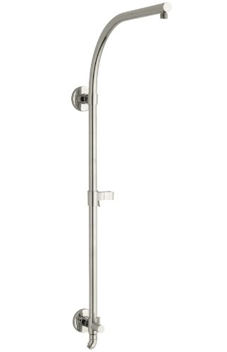 KOHLER K-45209-SN Hydrorail-R Arch Bath and Shower Column, Vibrant Polished Nickel ()