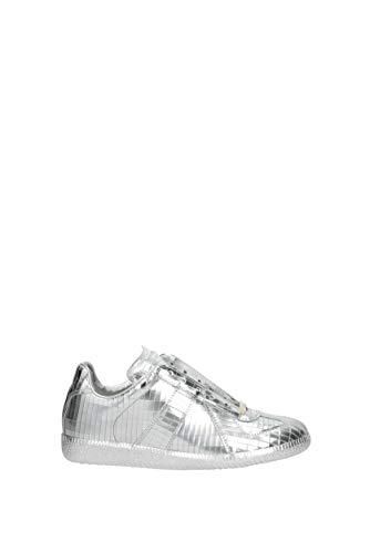 Margiela Sneakers Piel Mujer s58ws0065sy0976 Plata Eu Maison f5q58