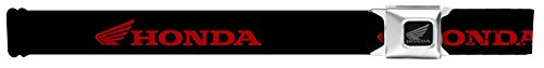 Belt - HONDA/Wing Logo Black/Red - 1.5