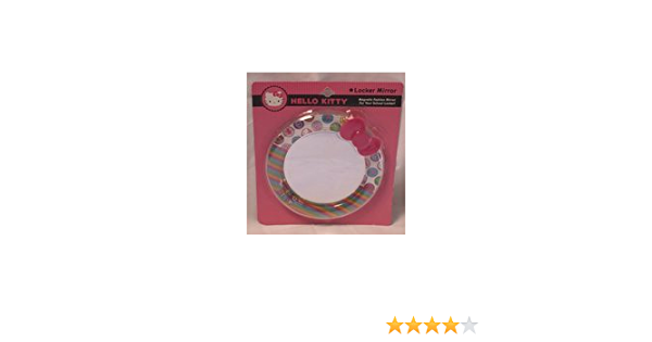 Magnetic Round Mirror and Dry Erase Board Hello Kitty Locker Essentials