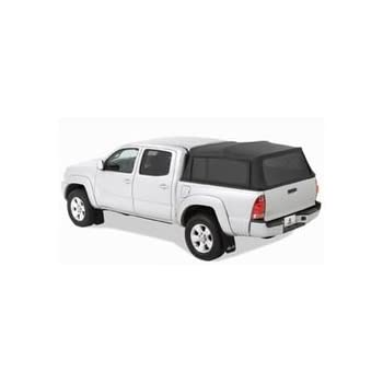 Bestop 76308-35 Black Diamond Supertop for Truck Bed Cover for 2005-2017 Toyota Tacoma Double Cab, 5.0' bed