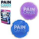 PAINCAKES Mini The Cold Pack That Sticks & Stays in Place- Reusable Cold Therapy Ice Pack Conforms to Body, 1 Set Mini