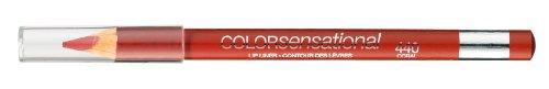 Maybelline Color Sensational Lipliner Nr. 440 Coral Fire, Lippenkonturenstift, für eine makellose Lippenkontur, verhindert ein Verlaufen der Lippenfarbe, 2 g