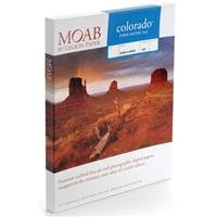 Moab Colorado Fiber Satin Textured Archival Inkjet Paper, 245gsm, 10 mil, 17x22