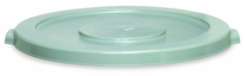 Continental 1002GY 10-Gallon Huskee LLDPE Waste Lid, Round, Grey