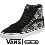 Vans Mens SK8 HI Reissue Nintendo CONTRL True Shoes