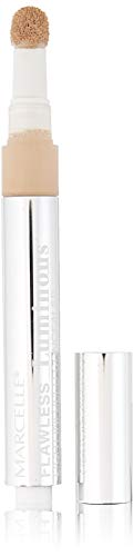 Marcelle Flawless Luminous Light-Infused Concealer, Fair, Hypoallergenic and Fragrance-Free, 0.1 fl oz