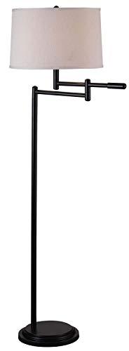 "Kenroy Home 20941CB Theta Floor Lamp, 59.5"" H x 16"" W, Black Copper Bronze"