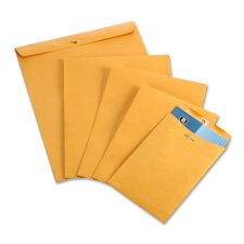Quality Product By Business Source - Clasp Envelopes 28 lb. 12amp;quot;x15-1/2amp;quot; 100 Brown Kraft by Business Source